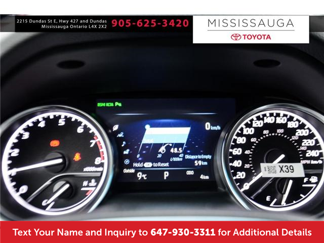 2018 Toyota Camry XLE V6 (Stk: J4288) in Mississauga - Image 3 of 9