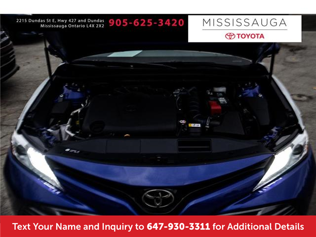 2018 Toyota Camry XLE V6 (Stk: J4288) in Mississauga - Image 8 of 9