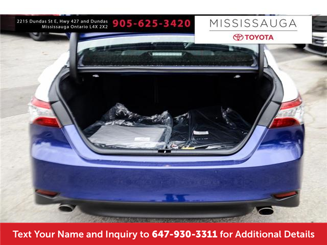 2018 Toyota Camry XLE V6 (Stk: J4288) in Mississauga - Image 9 of 9