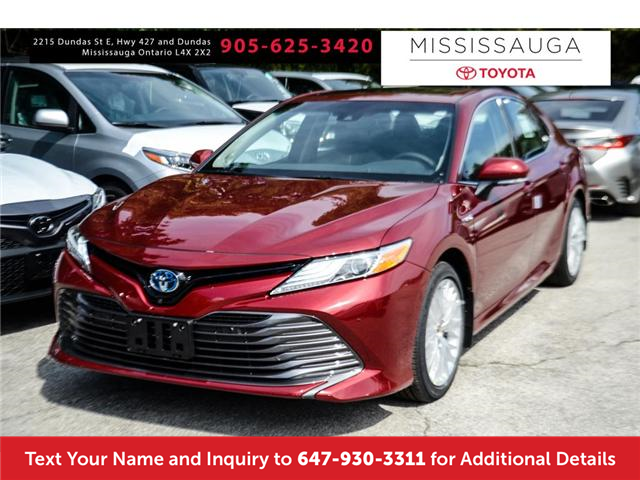 2018 Toyota Camry Hybrid XLE (Stk: J4045) in Mississauga - Image 1 of 9