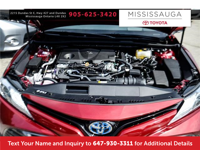 2018 Toyota Camry Hybrid XLE (Stk: J4045) in Mississauga - Image 4 of 9