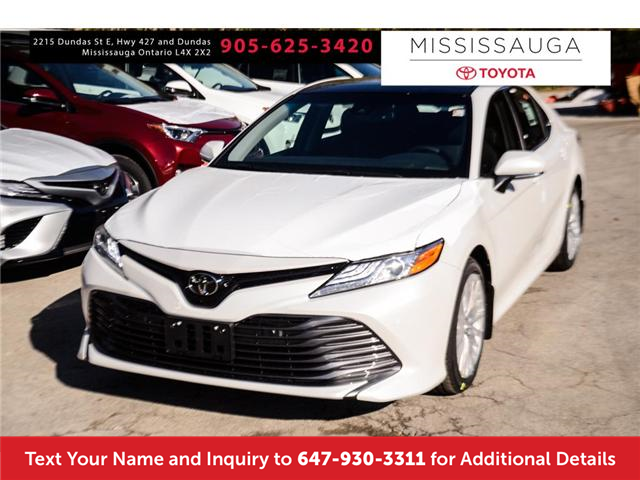 2018 Toyota Camry Xle Two Tone Premium Paint Colour For Sale In