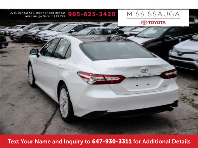 2018 Toyota Camry XLE (Stk: J4300) in Mississauga - Image 7 of 9