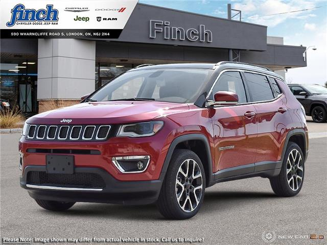 2021 Jeep Compass Limited (Stk: 99861) in London - Image 1 of 19