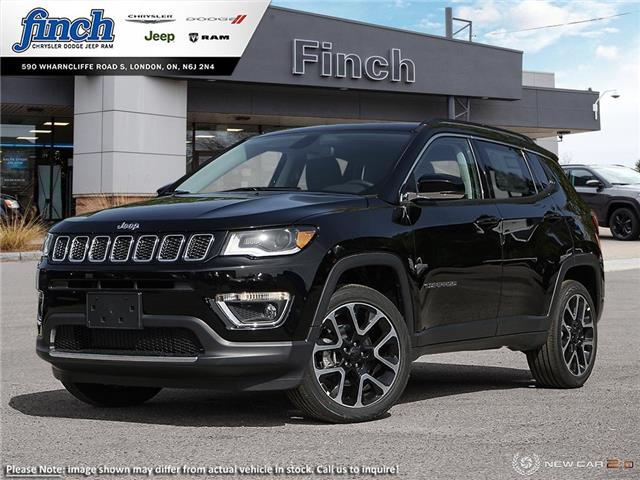 2021 Jeep Compass Limited (Stk: 100020) in London - Image 1 of 24