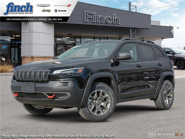 2021 Jeep Cherokee Trailhawk (Stk: 101157) in London - Image 1 of 21