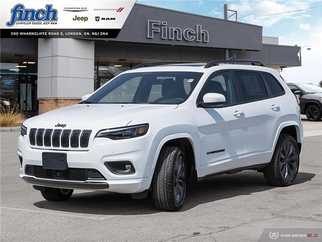2021 Jeep Cherokee Limited (Stk: 101156) in London - Image 1 of 27