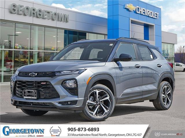 2021 Chevrolet TrailBlazer RS (Stk: 33249) in Georgetown - Image 1 of 28