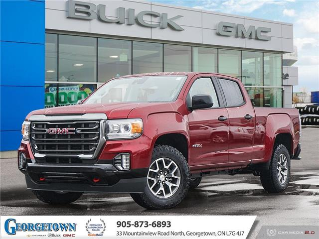 2021 GMC Canyon AT4 w/Cloth (Stk: 32734) in Georgetown - Image 1 of 27