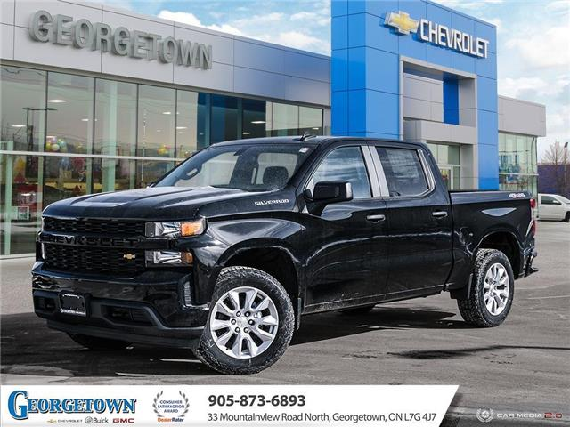 2021 Chevrolet Silverado 1500 Silverado Custom (Stk: 33031) in Georgetown - Image 1 of 27