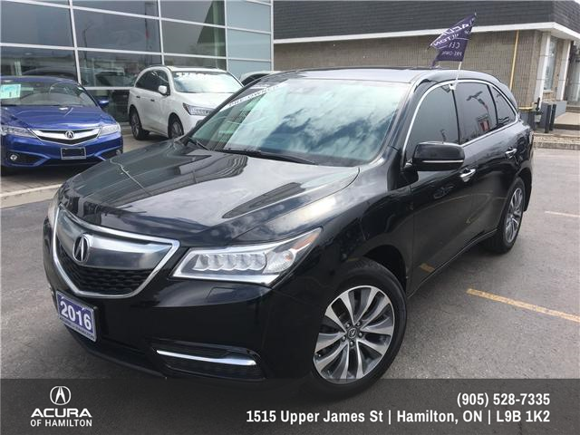 2016 Acura MDX Navigation Package (Stk: 1611020) in Hamilton - Image 2 of 25