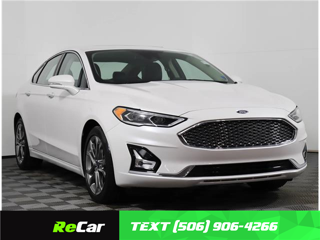 2020 Ford Fusion Hybrid Titanium (Stk: 210132B) in Fredericton - Image 1 of 23