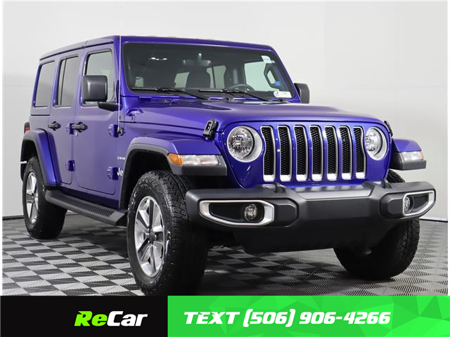 2020 Jeep Wrangler Unlimited Sahara (Stk: 210705B) in Fredericton - Image 1 of 24