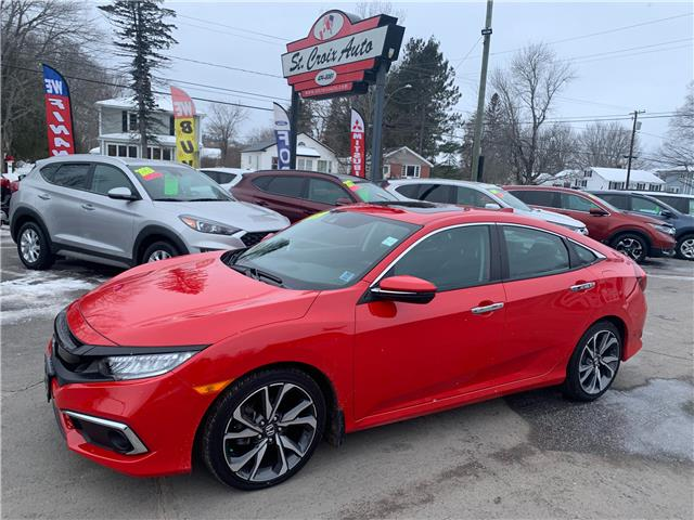 2019 Honda Civic Touring (Stk: 210417B) in Fredericton - Image 1 of 12