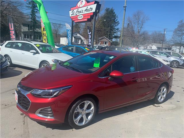 2019 Chevrolet Cruze Premier (Stk: 210756A) in Fredericton - Image 1 of 12