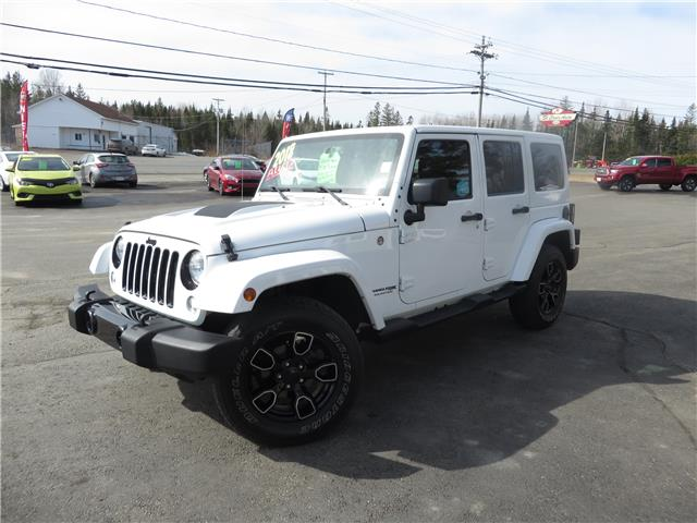 2018 Jeep Wrangler JK Unlimited Sahara (Stk: S200456A) in St. Stephen - Image 1 of 13