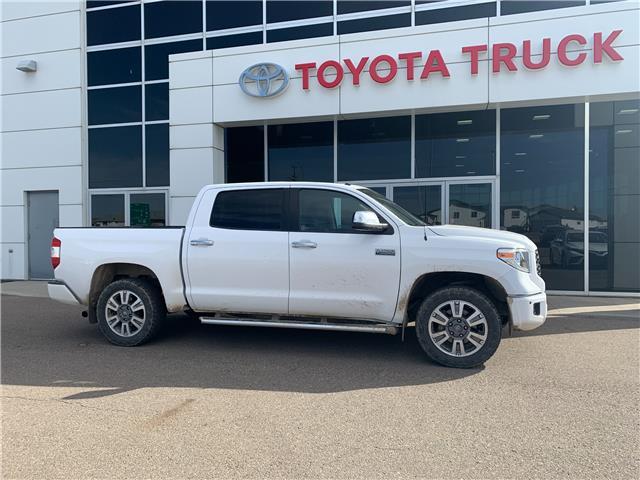 2018 Toyota Tundra Platinum 5.7L V8 (Stk: P1517) in Medicine Hat - Image 1 of 1