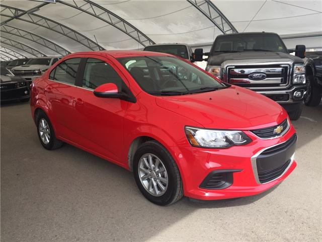 2018 Chevrolet Sonic LT Auto (Stk: 161362) in AIRDRIE - Image 1 of 19