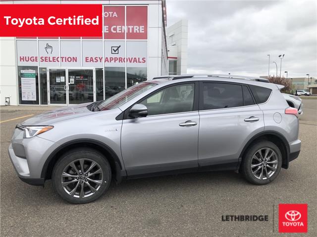 2018 Toyota RAV4 Hybrid Limited (Stk: UT0574A) in Lethbridge - Image 1 of 4