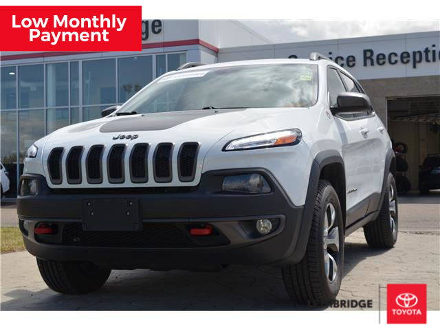 2015 Jeep Cherokee Trailhawk (Stk: 1RA5884A) in Lethbridge - Image 1 of 26