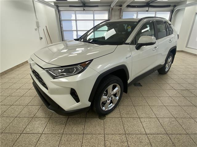 2021 Toyota RAV4 Hybrid Limited (Stk: 210434) in Cochrane - Image 1 of 20