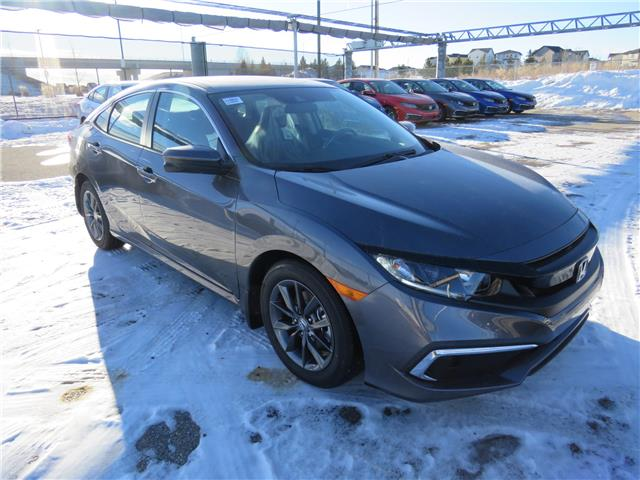 2021 Honda Civic EX (Stk: 210055) in Airdrie - Image 1 of 8