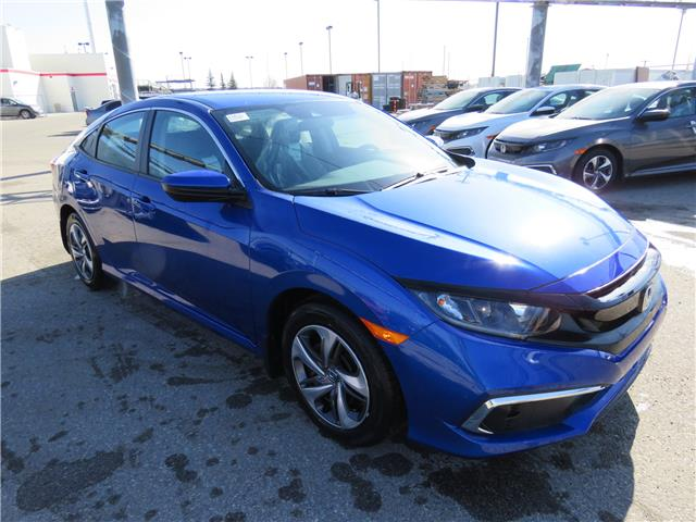 2021 Honda Civic LX (Stk: 210121) in Airdrie - Image 1 of 8