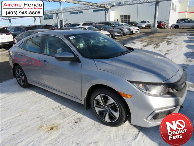 2021 Honda Civic LX (Stk: 210098) in Airdrie - Image 1 of 8