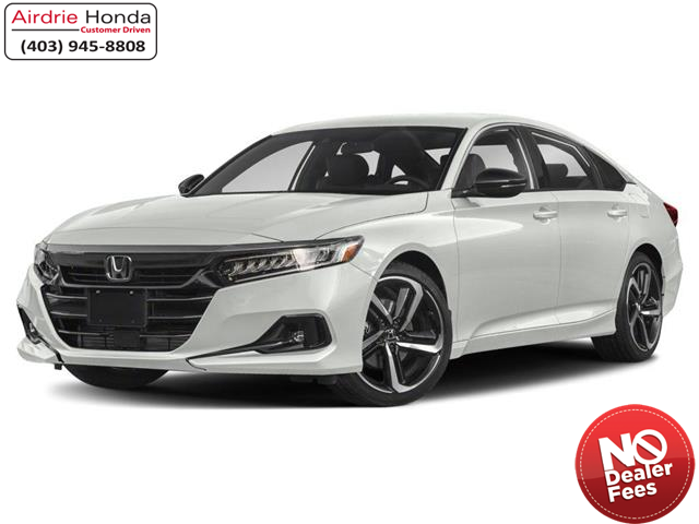 2021 Honda Accord SE 1.5T (Stk: 210073) in Airdrie - Image 1 of 9