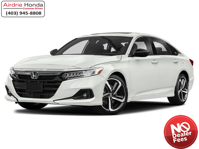 2021 Honda Accord Sport 1.5T (Stk: 210253) in Airdrie - Image 1 of 9