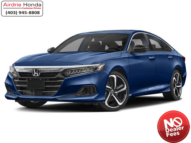 2021 Honda Accord Sport 2.0T (Stk: 216298) in Airdrie - Image 1 of 9