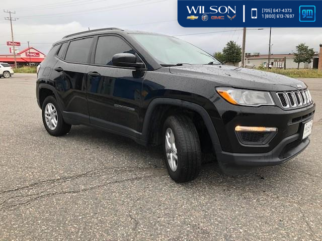 2017 Jeep Compass Sport (Stk: 03780A) in Temiskaming Shores - Image 1 of 12