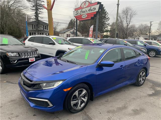 2019 Honda Civic LX (Stk: S200452A) in Fredericton - Image 1 of 10