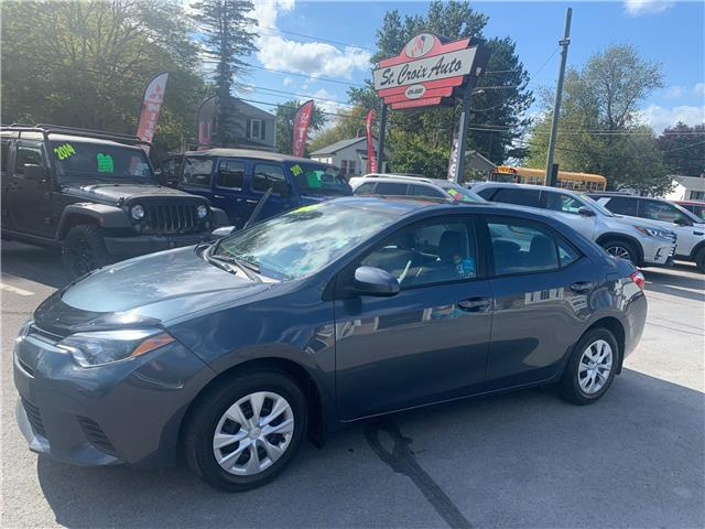2015 Toyota Corolla CE (Stk: 211984b) in Fredericton - Image 1 of 8