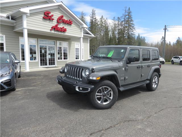 2020 Jeep Wrangler Unlimited Sahara (Stk: 210707B) in St. George - Image 1 of 17