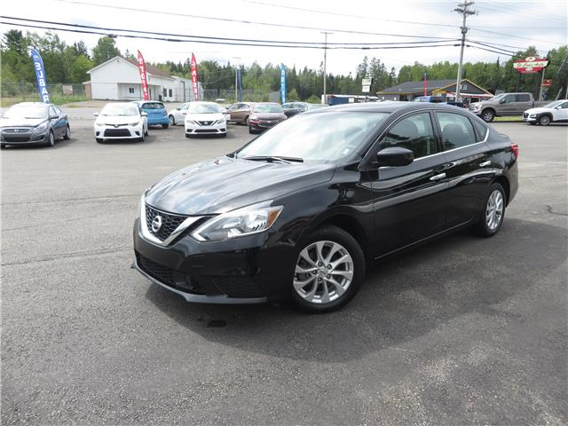 2019 Nissan Sentra 1.8 S (Stk: S200304A) in St. Stephen - Image 1 of 16