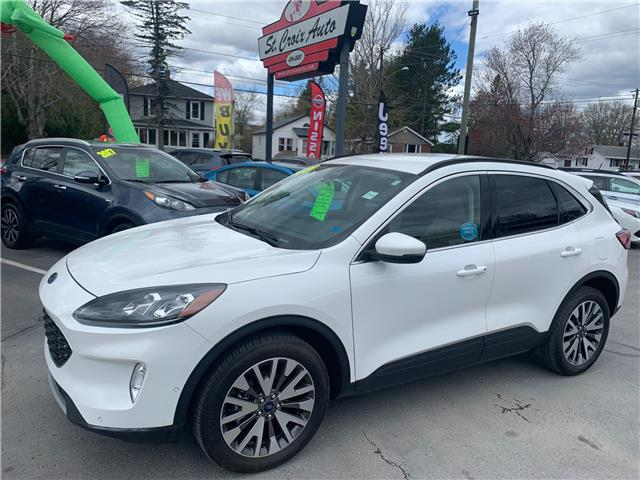 2020 Ford Escape Titanium (Stk: 210349B) in St. Stephen - Image 1 of 22