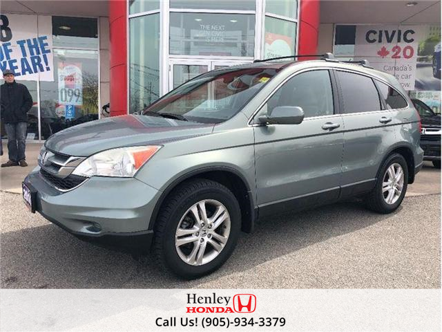 2010 Honda CR-V EX SUNROOF ALLOY RIMS (Stk: H16874A) in St. Catharines - Image 1 of 19