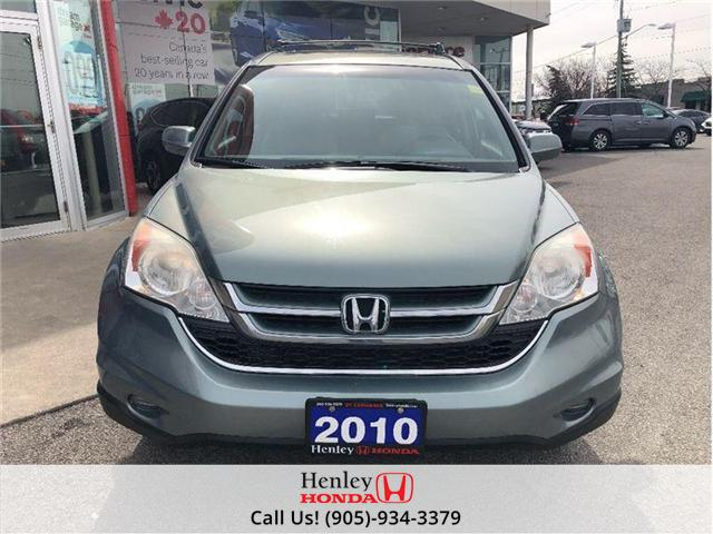2010 Honda CR-V EX SUNROOF ALLOY RIMS (Stk: H16874A) in St. Catharines - Image 8 of 19