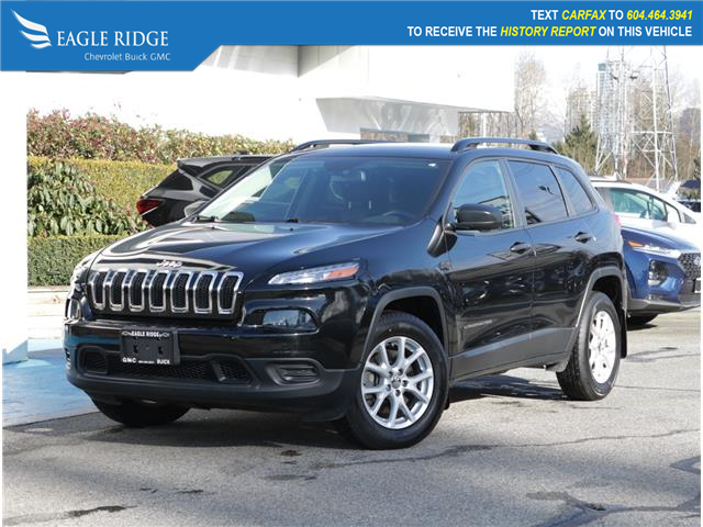 2018 Jeep Cherokee Sport (Stk: 180200) in Coquitlam - Image 1 of 20