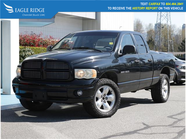 2002 Dodge Ram 1500 SLT (Stk: 029262) in Coquitlam - Image 1 of 16