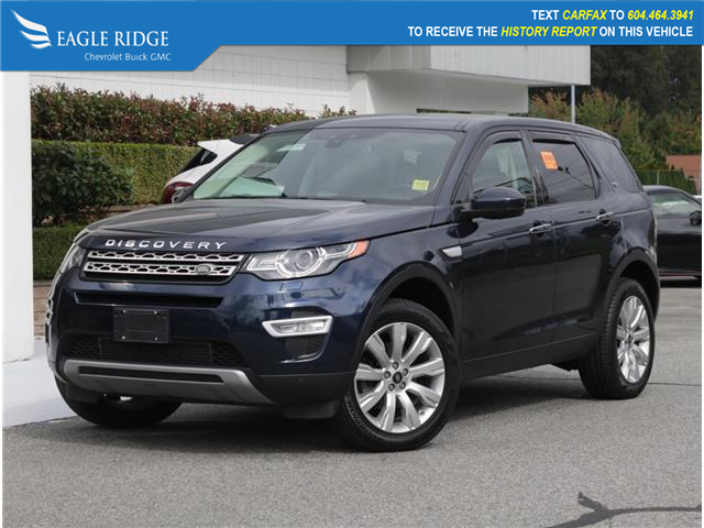2016 Land Rover Discovery Sport HSE LUXURY (Stk: 160921) in Coquitlam - Image 1 of 21