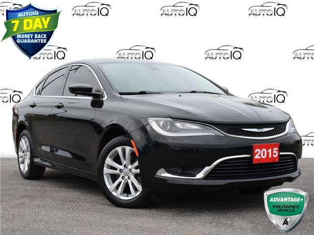 2015 Chrysler 200 Limited Black