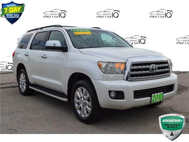 2010 Toyota Sequoia Platinum 5.7L V8 (Stk: 197687A) in Grimsby - Image 1 of 24