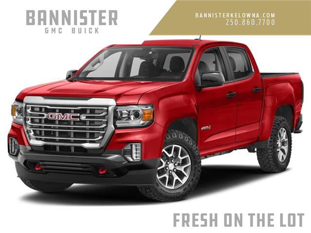 2021 GMC Canyon AT4 w/Leather (Stk: 21-945) in Kelowna - Image 1 of 9