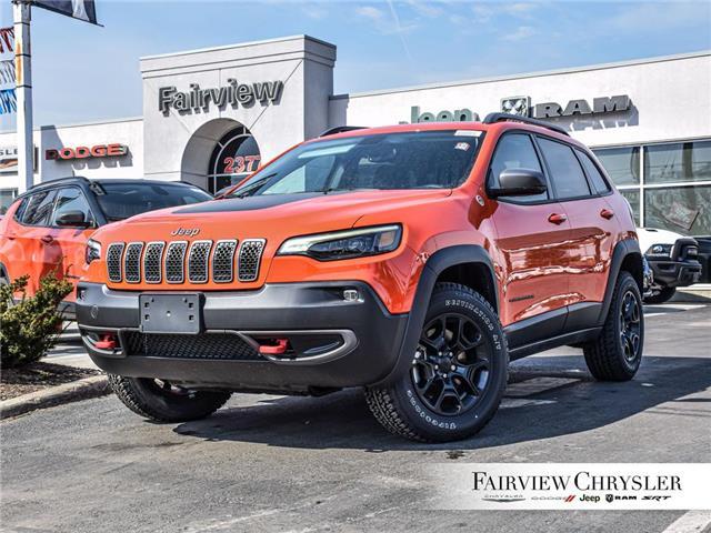 2021 Jeep Cherokee Trailhawk (Stk: MD287) in Burlington - Image 1 of 30
