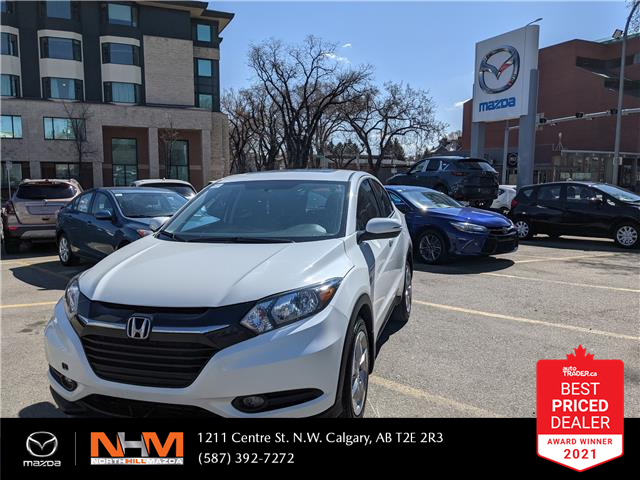 2018 Honda HR-V EX (Stk: N3281) in Calgary - Image 1 of 18