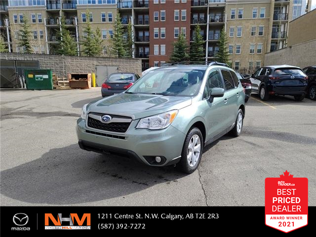 2014 Subaru Forester 2.5i (Stk: K8224A) in Calgary - Image 1 of 21