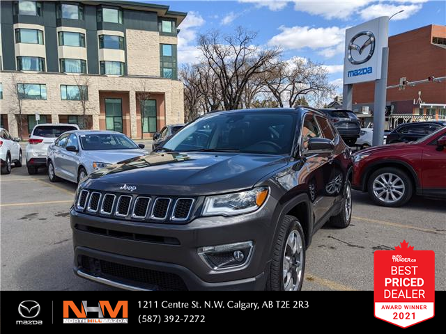 2018 Jeep Compass Limited (Stk: NT3283) in Calgary - Image 1 of 18