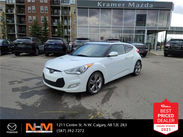 2012 Hyundai Veloster Base (Stk: K8256) in Calgary - Image 1 of 19
